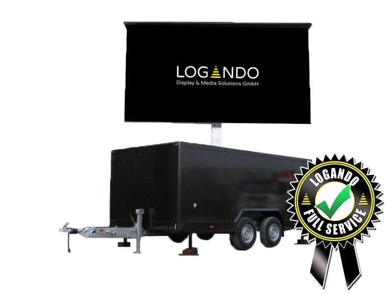 LED Trailer – 5,12m x 2,88m LED Screen mieten - LED Trailer mieten