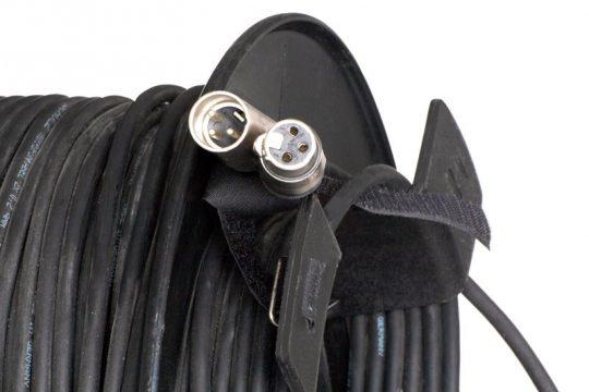 50 Meter XLR-Mikrofonkabeltrommel mieten