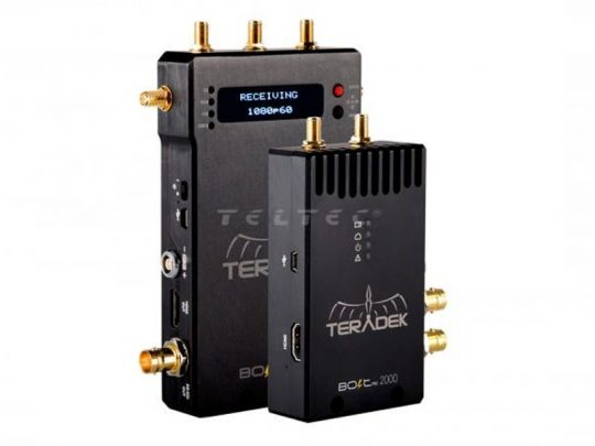 Drahtlose 3GSDI/ HDMI-Videofunkstrecke - Teradek BOLT-990 PRO 2000 Set (TX+1RX) mieten