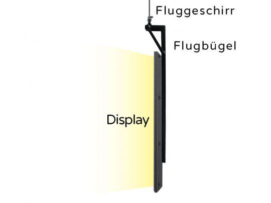 Funktionsweise von Flugbügeln im Zusammenspiel mit dem Hängeset.
