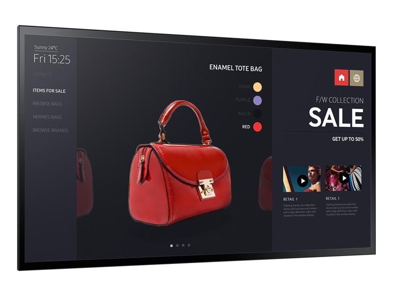 Samsung PM55F-BC schraeg grosse-LED – Samsung PMF mieten