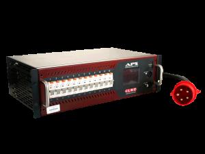 Strom-Unterverteilung 32A CEE-Rot|2x HAN16 - LSC Lighting Systems APS 12/13W mieten