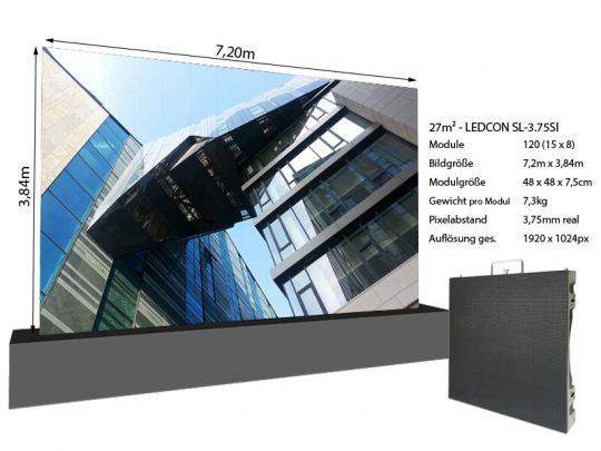 LED-Wand-7,20m-x-3,84m---3,75mm-LEDCON-SL-3,75SI-+-Infos