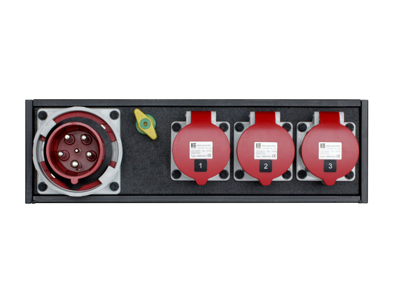 Strom-Unterverteilung 63 A CEE-Rot|3 x 32 A CEE-Rot - Indu Electric mieten