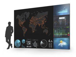 217 Zoll Full HD LED Wand - 2.5mm Pixelabstand Philips kaufen