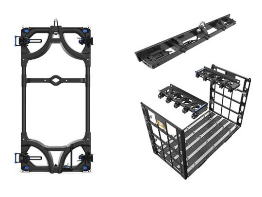 LED-Wand-Modul-5.90mm-Touring-Frame-Dolly-Hanging-Bar---Unilumin-upad III H5-mieten