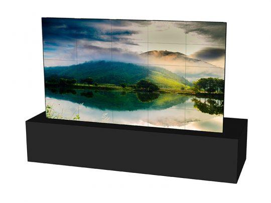 Steglose-Videowand--5x5-aus-55-Zoll-Displays-mieten