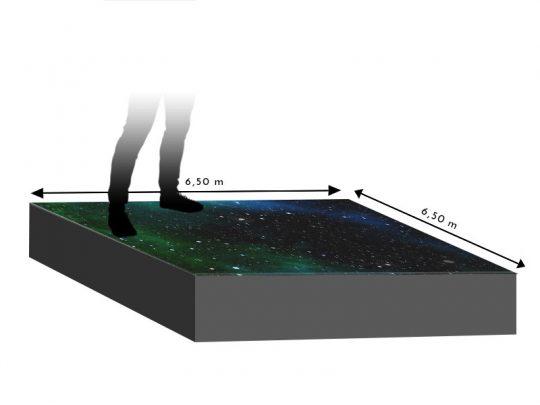 LED Boden 6,50m x 6,50m - 5.95mm Innlights InnScreen M5 mieten