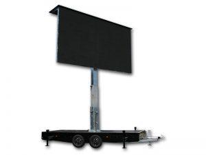mobile led trailer 15qm