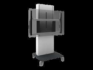 Bodenständer-mit-Rollen-Display-Halterung-SmartMetals-kaufen