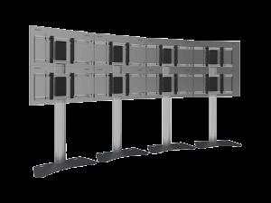 VideoWall-Display-Bodenständer-Halterungssysteme-SmartMetals-kaufen