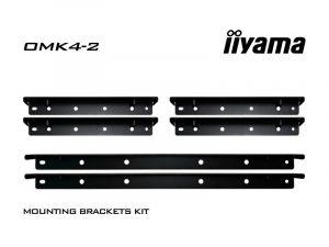 Befestigungswinkel-Kit - iiyama OMK4-2 (Neuware) kaufen